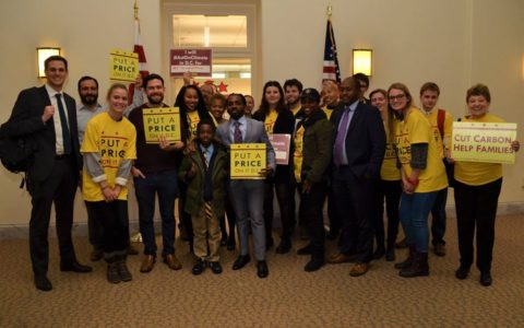Coalition sends letter urging DC Council to support an equitable carbon rebate policy