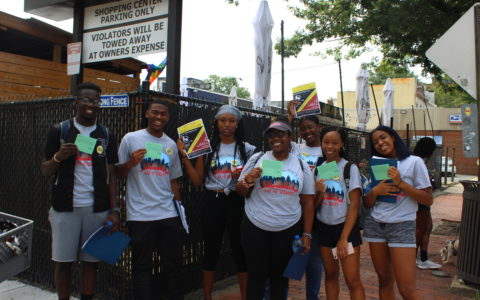 Howard University students are ready for 100% clean energy in DC!