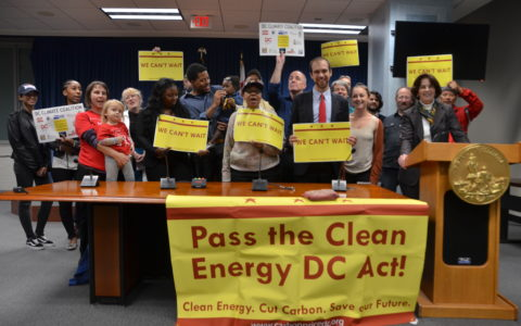 DC can't wait, and the planet can't either. Recap from the kickoff