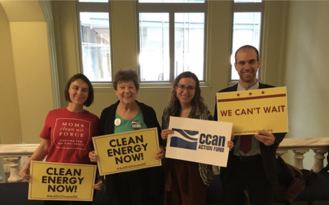 DC Council Unanimously Passes First Vote for Key Climate Bill